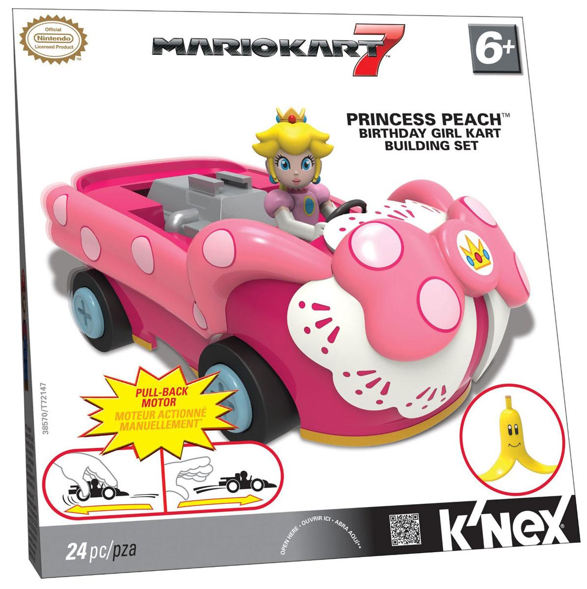 K'nex Конструктор Автомобиль принцессы Пич детский костюм принцессы пич 28