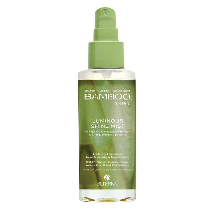 Alterna Спрей-вуаль для сияния и блеска волос Bamboo Luminous Shine Mist - 100 мл alterna спрей вуаль для сияния и блеска волос bamboo shine 100 мл
