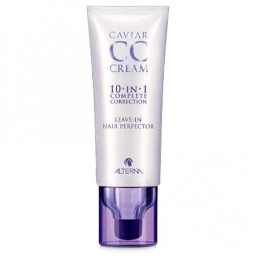 Alterna Комплексный уход-корректор для волос Caviar CC Cream — 74 мл alterna эликсир быстрый рост волос caviar repair rx lengthening hair and scalp elixir 50 мл