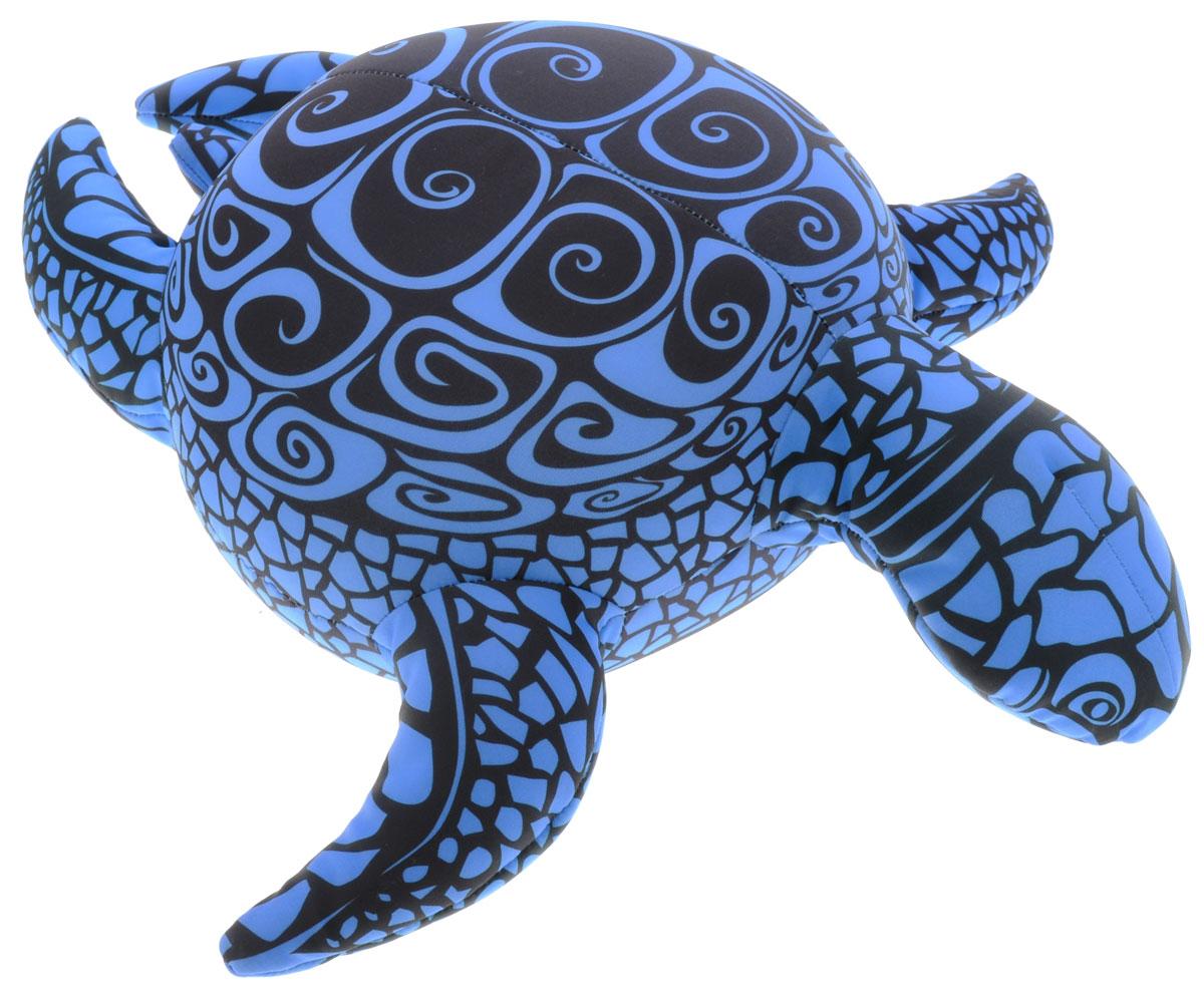 Maxi Toys Мягкая игрушка-антистресс Черепашка Геля цвет синий 43 см maxi toys мягкая игрушка антистресс