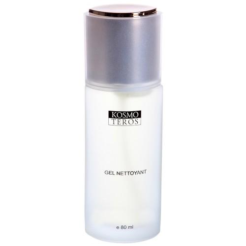 Kosmoteros Gel Nettoyant - Гель очищающий 80 мл5018Универсальное пенящееся средство для очищения лица, шеи и декольте. Мягко и тщательно удаляет загрязнения эндогенного и экзогенного происхождения, поддерживая необходимый уровень увлажнения кожи.Обладает антисептическими свойствами, обеспечивает длительную защиту от патогенной микрофлоры.Основные активные компоненты: Hyasealon 0, 7%, Symclariol 1, 0%, экстракты: шалфея, эвкалипта, чистотела, белой ивы, пантенол.Показания к применению: для всех типов кожи, включая чувствительную, но обязательно рекомендован для жирной и проблемной, склонной к высыпаниям, кожи.