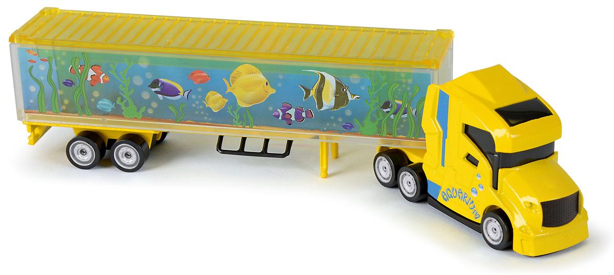 Majorette Грузовик Aquarium грузовик с полуприцепом