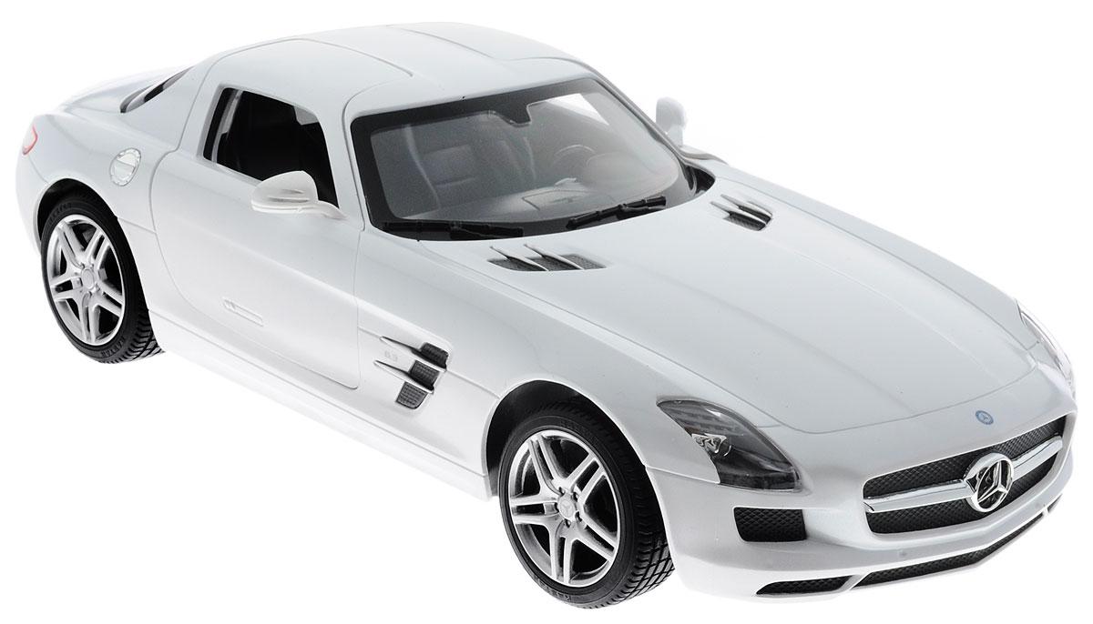 Rastar Радиоуправляемая модель Mercedes-Benz SLS AMG цвет белый mercedes а 160 с пробегом