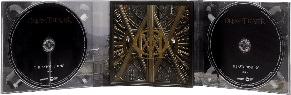 Dream Theater.  The Astonishing (2 CD) Roadrunner Records,Warner Music