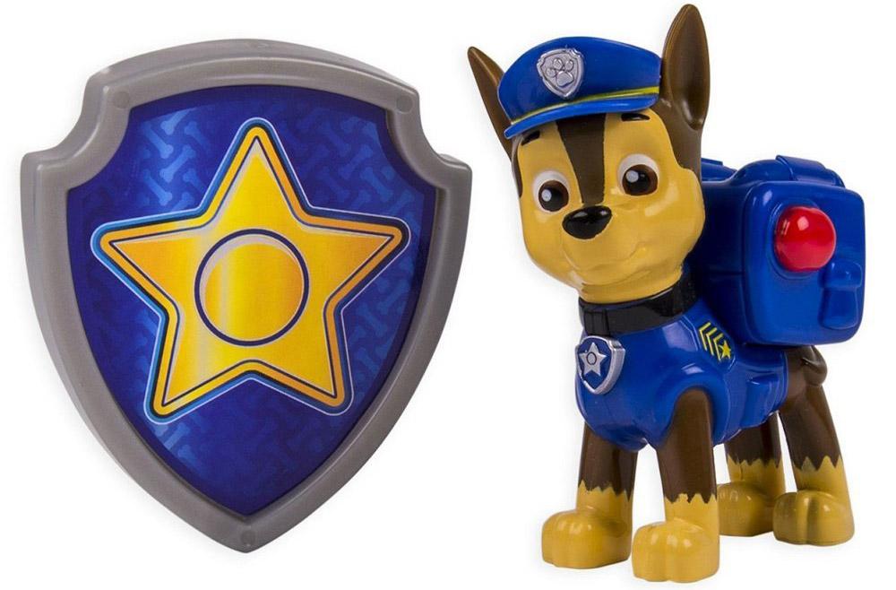 Paw Patrol Фигурка Chase с рюкзаком-трансформером paw patrol фигурка zuma с рюкзаком трансформером