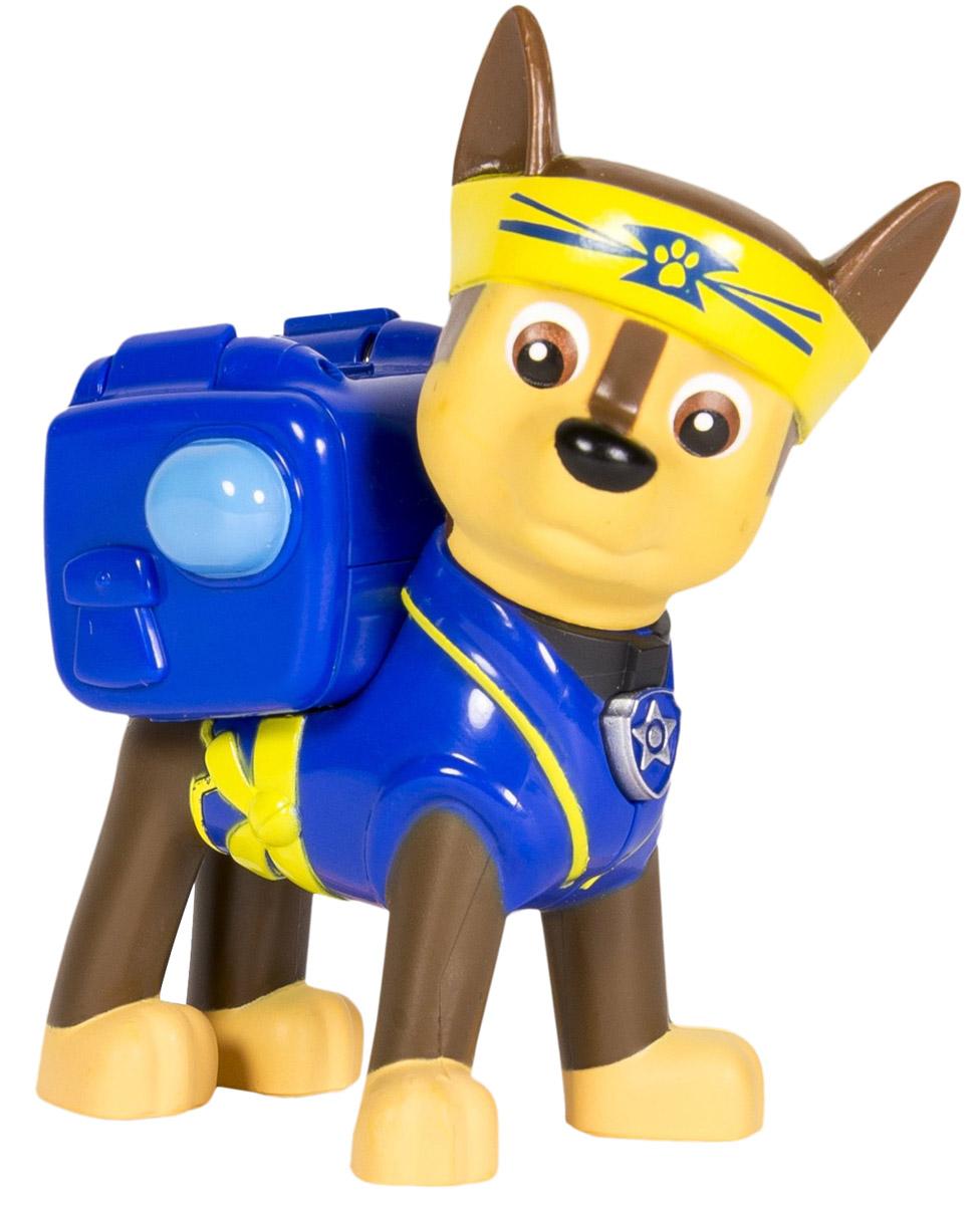 Paw Patrol Фигурка Chase с рюкзаком-трансформером chase decomposing figures