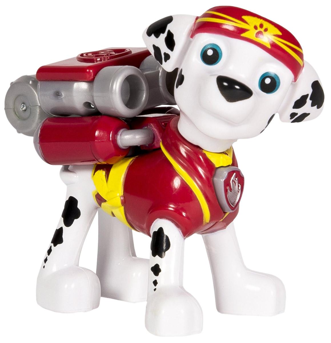 Paw Patrol Фигурка Marshall с рюкзаком-трансформером paw patrol фигурка щенок спасатель marshall