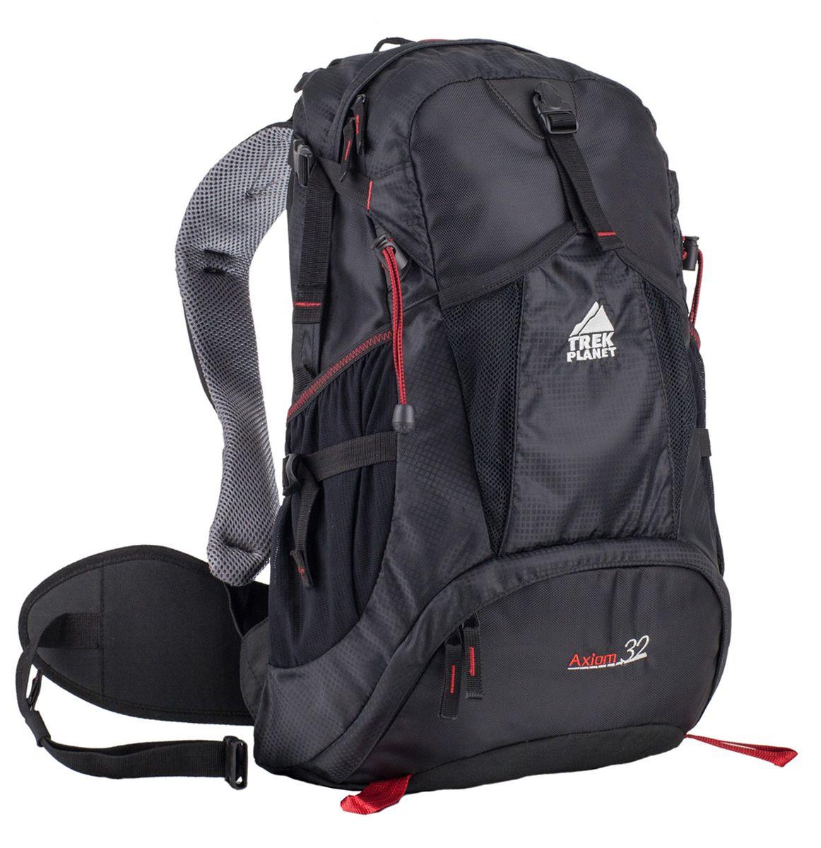 Рюкзак городской Trek Planet Axiom 32, цвет: черный рюкзак caribee trek цвет черный 32 л
