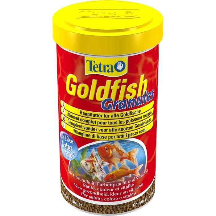 Корм для золотых рыбок Tetra Goldfish. Granules, в гранулах, 500 мл (158 г) корм tetra goldfish flakes complete food for all goldfish хлопья для всех видов золотых рыбок 1л 204355
