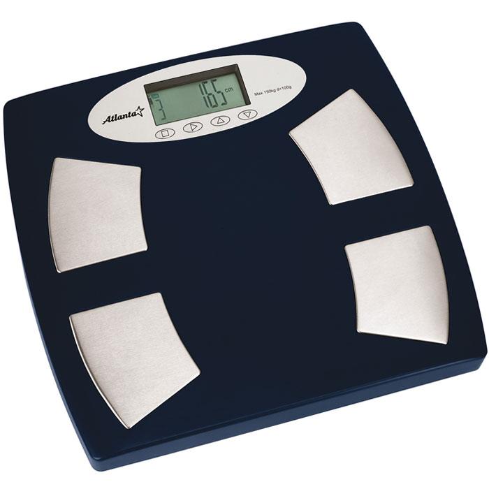 Atlanta ATH-70 весы напольныеATH-70Напольные электронные весы Atlanta ATH-70 - неотъемлемый атрибут здорового образа жизни. Они необходимы тем, кто следит за своим здоровьем, весом, ведет активный образ жизни, занимается спортом и фитнесом. Очень удобны для будущих мам, постоянно контролирующих прибавку в весе, также рекомендуются родителям, внимательно следящим за весом своих детей.