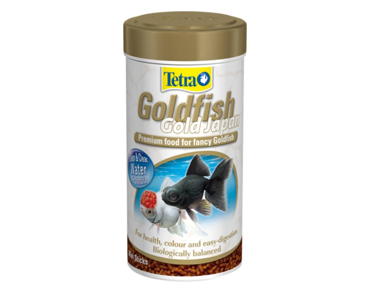 Корм Tetra Goldfish Gold Japan для селекционных золотых рыбок, мини-гранулы, 250 мл (145 г) корм tetra tetramin xl flakes complete food for larger tropical fish крупные хлопья для больших тропических рыб 10л 769946