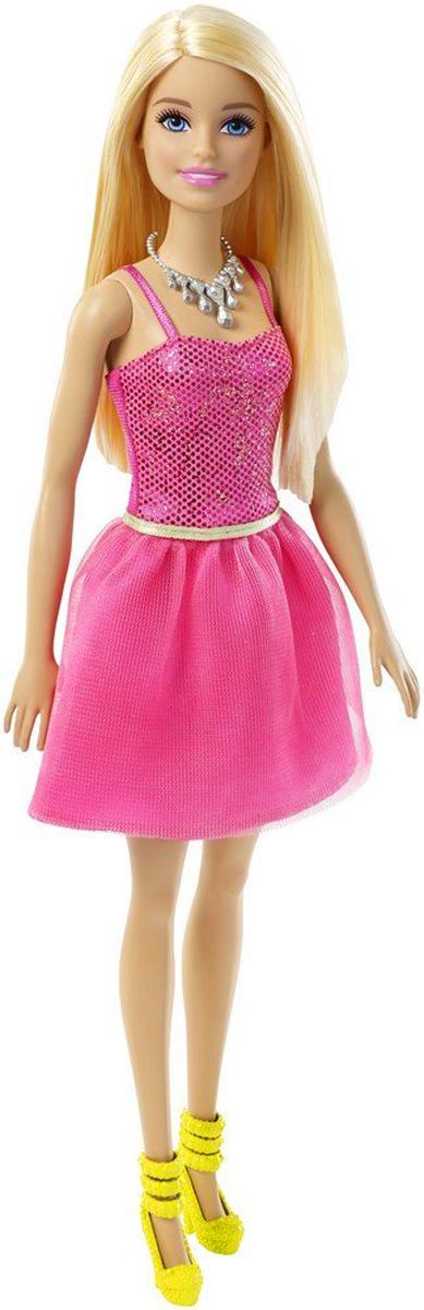 Barbie Кукла Блондинка Сияние моды цвет платья розовый barbie кукла цвет платья розовый черный
