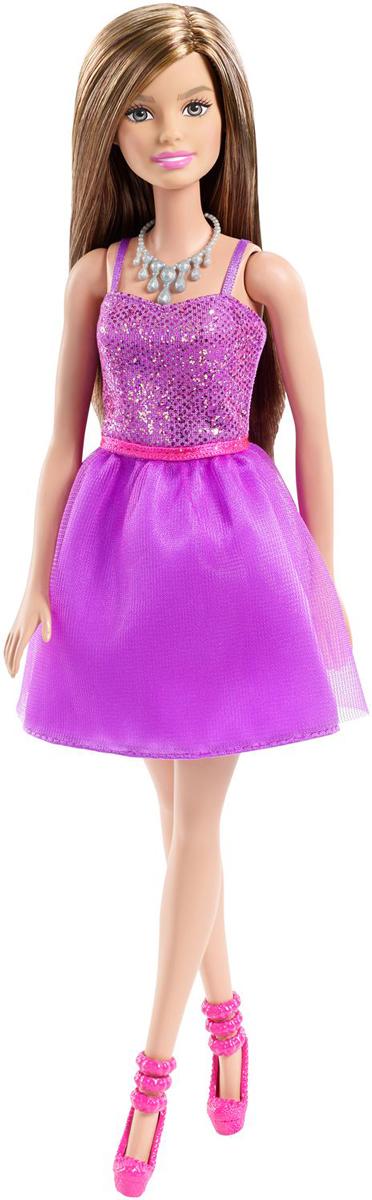 Barbie Кукла Шатенка Сияние моды цвет платья фиолетовый barbie кукла супер герой barbie цвет одежды фиолетовый