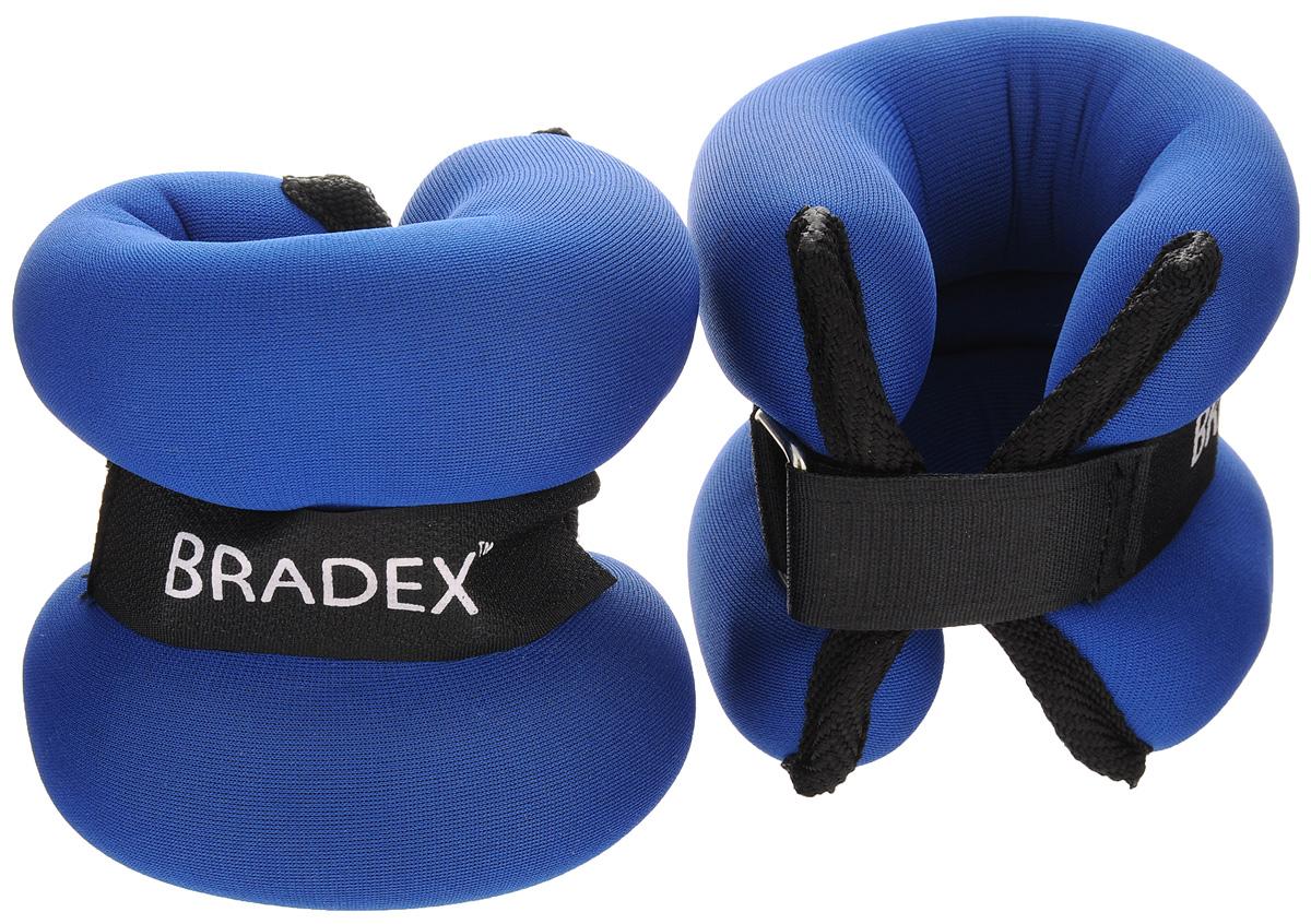Утяжелители  Bradex , 2х1 кг - Фитнес