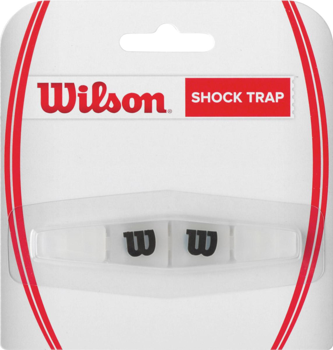 Виброгаситель Wilson Shock TrapWRZ537000Виброгаситель Wilson Shock Trap. Изготовлен из резины и силикона. Надевается на сетку ракетки. Он поглощает вибрации, снижая неприятные ощущения от удара по мячу и защищая суставы.Виброгаситель Wilson Shock Trap - виброгаситель обеспечивающий максимальный комфорт.