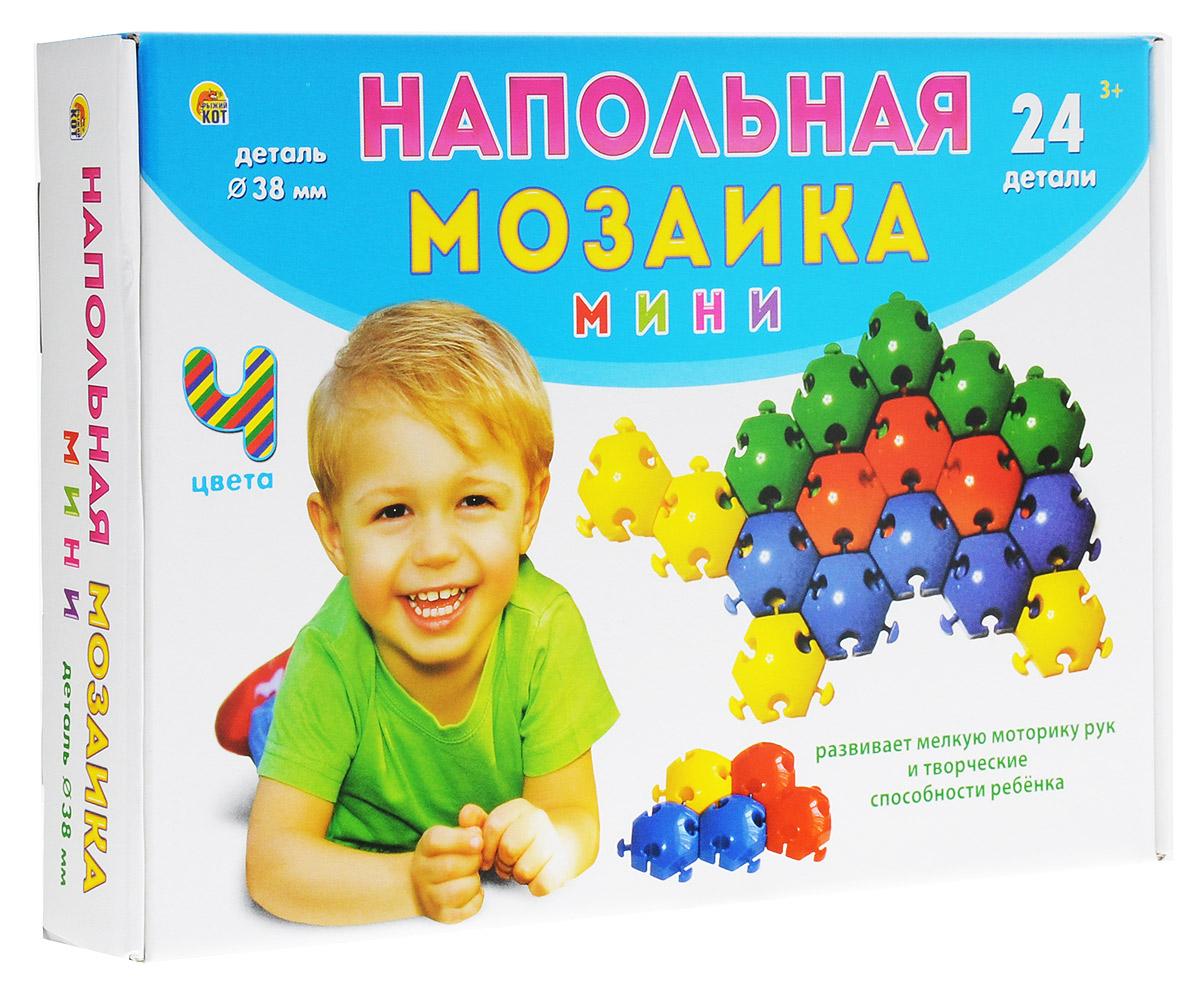 Рыжий Кот Мозаика напольная 24 элемента игрушка напольная мозаика жемчужинка 15030