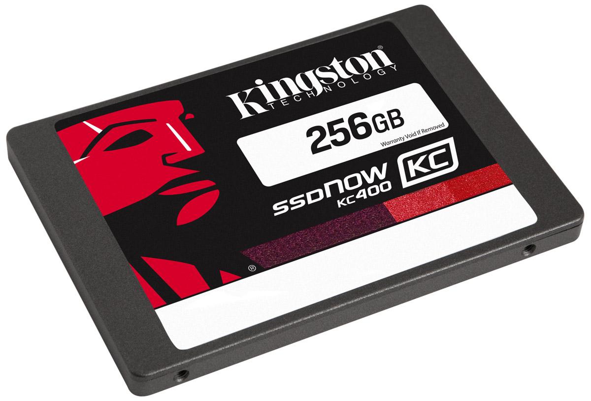 Kingston KC400 256GB SSD-накопитель (SKC400S37/256G)SKC400S37/256GТвердотельные накопители KC400 компании Kingston работают в 15 раз быстрее по сравнению с жесткими дисками; они обеспечивают стабильную скорость для сжимаемых и несжимаемых данных и повышают отзывчивость систем при запуске ресурсоемких приложений. В них используется 8-канальный контроллер Phison PS3110-S10 и четырехъядерный процессор для ускорения обработки повседневных задач и повышения продуктивности.Накопители обеспечивают сквозную защиту данных и поддерживают технологию SmartECC для сохранности данных, а также SmartRefresh для защиты от ошибок чтения. В случае возникновения ошибок данные воссоздаются; накопители восстанавливаются после аварийного отключения питания, благодаря защите от отключения питания на основе встроенного ПО. Современные контроллеры и память NAND обеспечивают высокую надежность хранения данных.