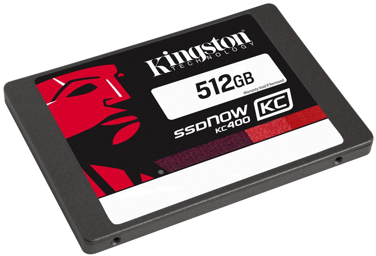 Kingston KC400 512GB SSD-накопитель (SKC400S37/512G)