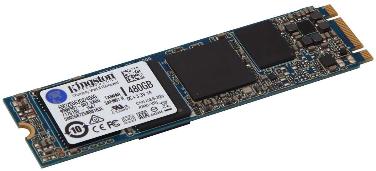 Kingston M.2 SATA G2 480Gb SSD-накопитель