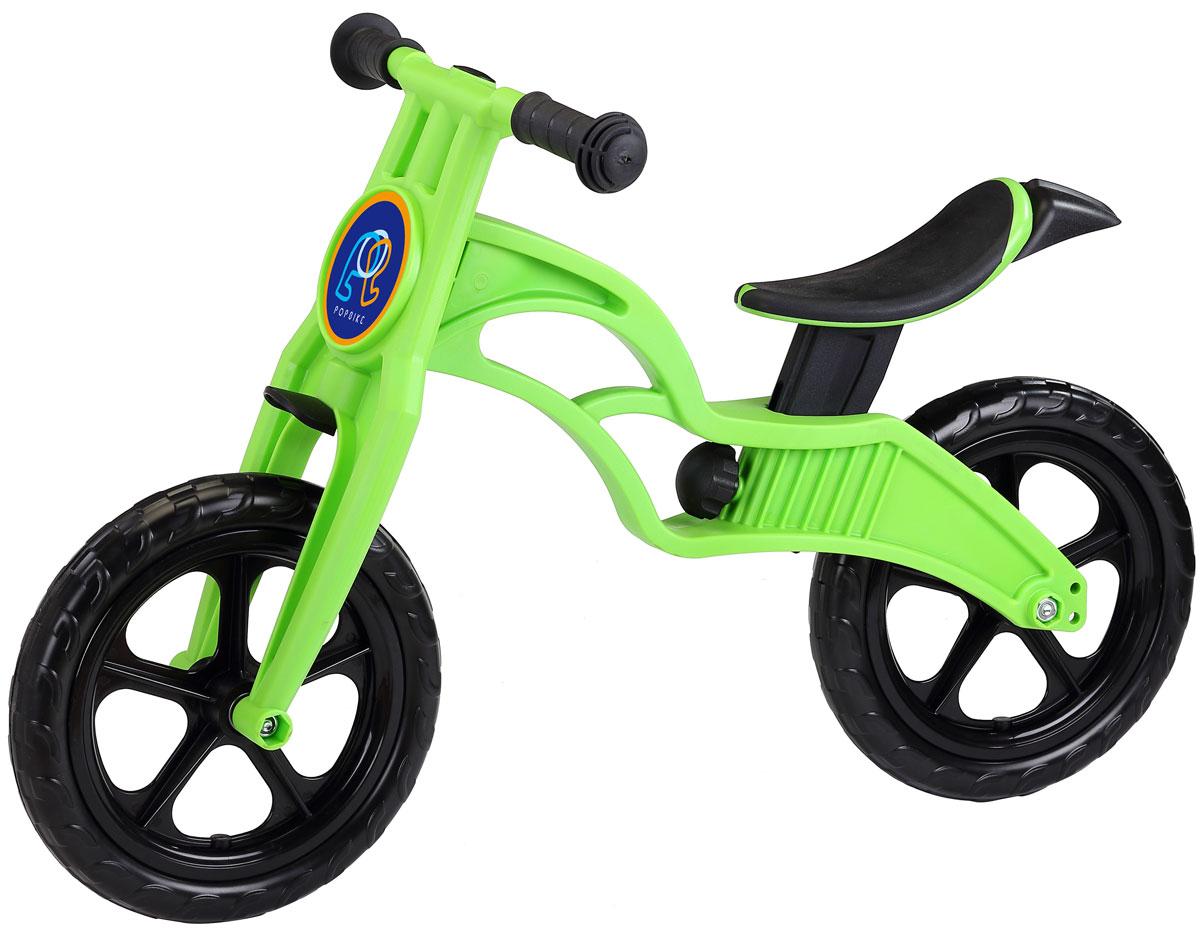 Pop Bike Беговел детский Sprint с бескамерными колесами цвет зеленый -  Беговелы