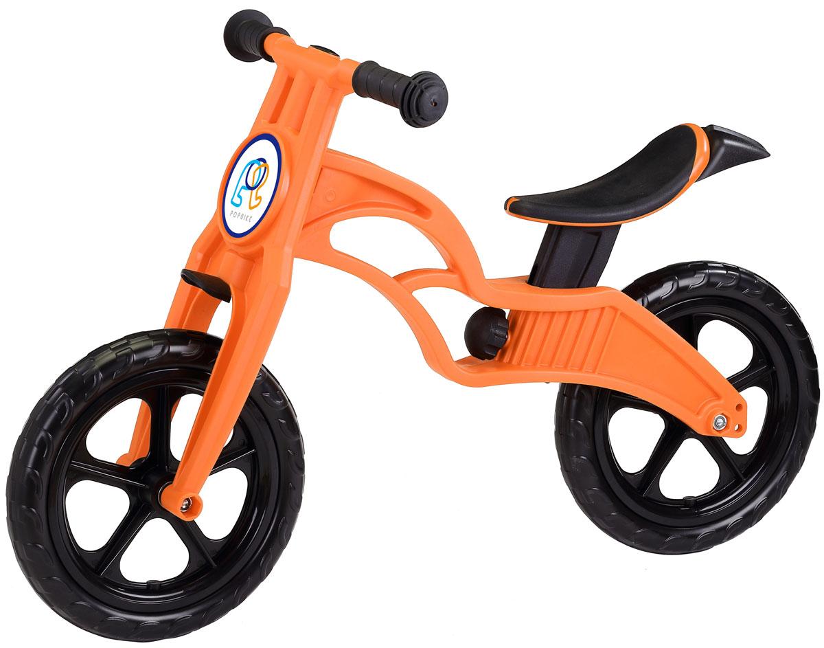 Pop Bike Беговел детский Sprint с бескамерными колесами цвет оранжевый -  Беговелы