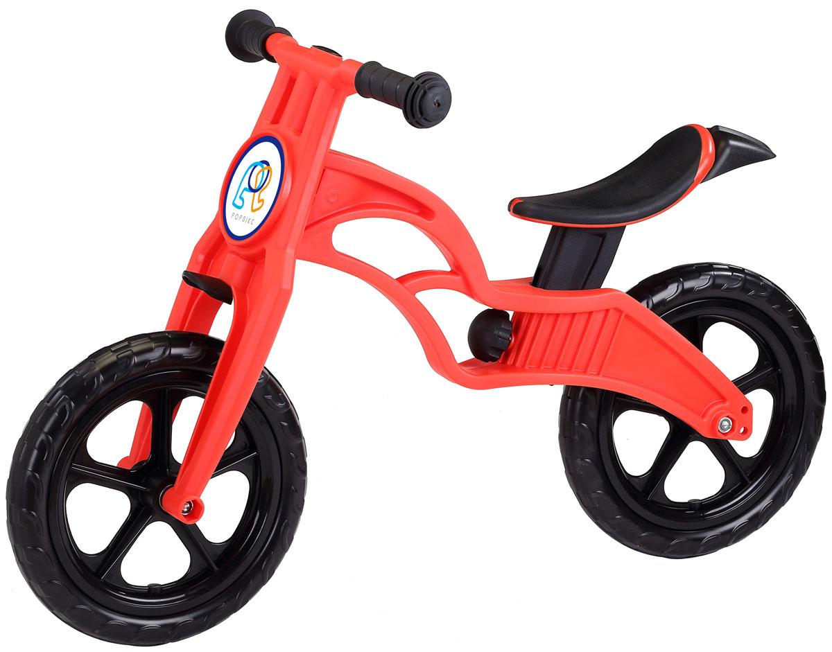 Pop Bike Детский беговел Sprint с бескамерными колесами цвет красный -  Беговелы