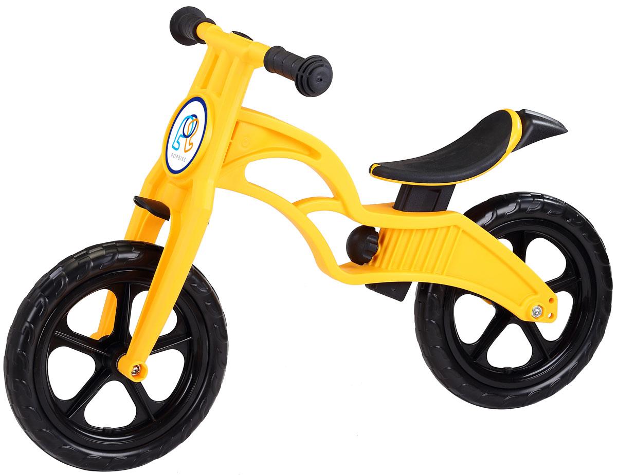 Pop Bike Детский беговел Sprint с бескамерными колесами цвет желтый - Беговелы