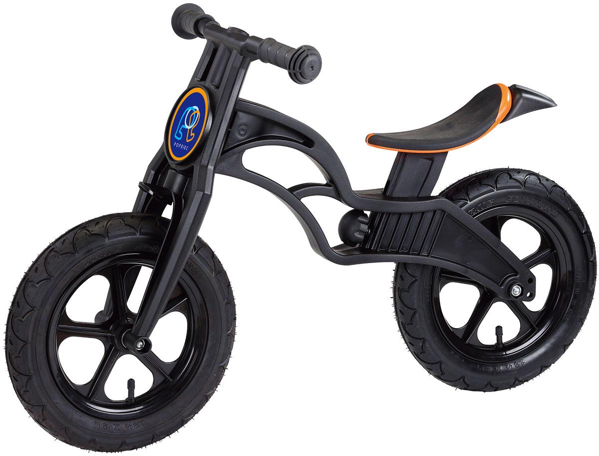 Pop Bike Беговел детский Flash с надувными колесами цвет черный -  Беговелы