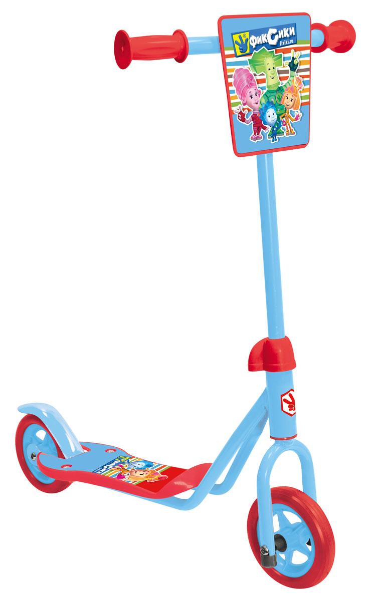 1TOY Самокат двухколесный Фиксики цвет красный голубой, Solmar Pte Ltd
