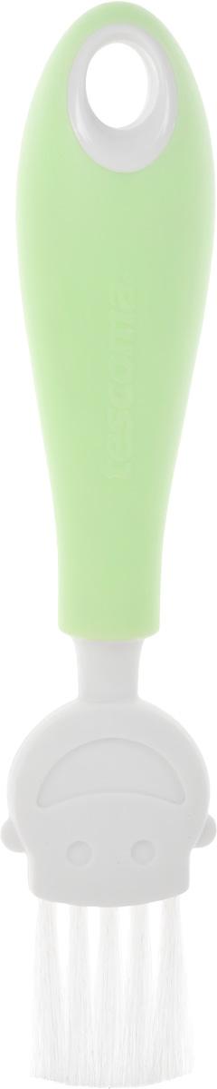 Кисть кулинарная Tescoma Funny Mummy, цвет: зеленый, длина 17 см470018_салатовыйКулинарная кисть Tescoma Funny Mummy станет вашим незаменимым помощником на кухне. Рабочая часть кисточки выполнена из мягкого нейлонового волокна, ручка изготовлена из полипропилена. Изделие оснащено петелькой для подвешивания. Кисть Tescoma Funny Mummy - практичный и необходимый подарок любой хозяйке!Длина кисти: 17 см.Размер рабочей части: 3 х 3 см.
