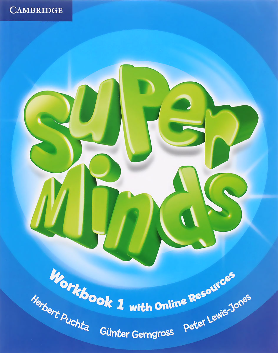 Super Minds 1: Workbook with Online Resources фотообои komar brooklyn brick 3 68х2 54 м 8 882
