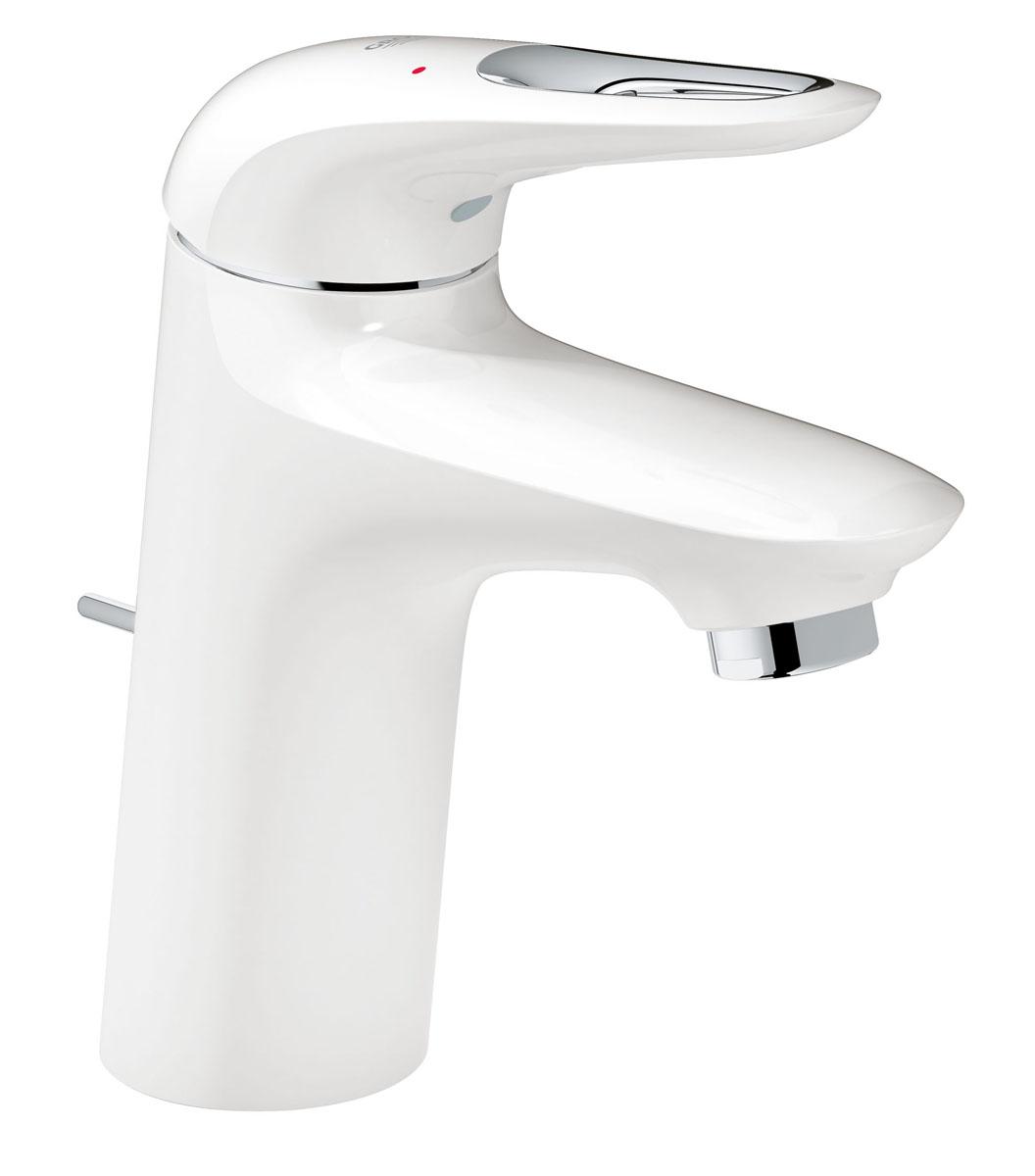 Смеситель для раковины Grohe Eurostyle New, с донным клапаном и энергосберегающим картриджем. 23374LS323374LS3Однорычажный смеситель для раковины Grohe Eurostyle New - это простое и интуитивно понятное решение, идеально для семейных ванных комнат и для стандартных раковин. Если вы ищете смеситель для ванной в простом и современном дизайне - этот моноблочный смеситель станет лучшим выбором для вас, с его водо- и энергосберегающими возможностями, как, например, встроенная технология EcoJoy и эргономичной рукояткой смесителя с технологией SilkMove ES, делает его невероятно простым в эксплуатации. Предназначенная быстрого и простого монтажа на одно отверстие, эта модель идеально подходит для вас.