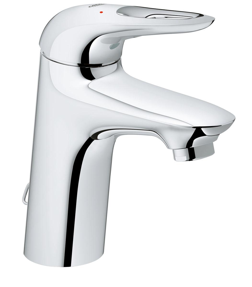 Смеситель для раковины Grohe Eurostyle New, с цепочкой33557003Однорычажный смеситель Grohe Eurostyle New легок и интуитивно понятен в использовании, что делает его идеальным выбором для семейных ванных комнат и стандартных раковин, он также имеет встроенную водосберегающую технологию EcoJoy®. Если вы ищете смеситель для ванной, который будет хорошо дополнять чистый современный дизайн, этот моноблочный смеситель станет для вас идеальным выбором - цепочка для сливного гарнитура, та маленькая деталь дополняющая этот аккуратный и гладкий дизайн. В рамках коллекции смесителей для ванной комнаты Eurostyle вы увидите, что этот смеситель для раковины легко сочетается с другими продуктами в той же дизайн-линии для создания комплексного решения для ванной.