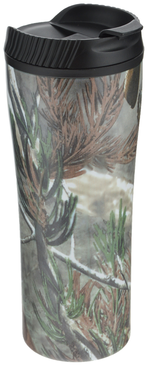 Кружка-термос Mayer & Boch Ель, 560 мл25412_ель_черный, зеленыйКружка-термос Mayer & Boch выполнена из высококачественной нержавеющейстали и термостойкого пластика с двойными стенками, которые защищают руки отвысоких температур и позволяют дольше сохранять тепло напитка. Изделиеимеет защиту от проливаний и оснащено удобной крышкой с открывающимсяклапаном.Такая термокружка порадует каждого, кто ее увидит, и великолепно украситкухонный интерьер. Высота кружки-термоса (с учетом крышки): 21 см. Диаметр основания кружки-термоса: 7 см.Диаметр горлышка: 8,5 см.