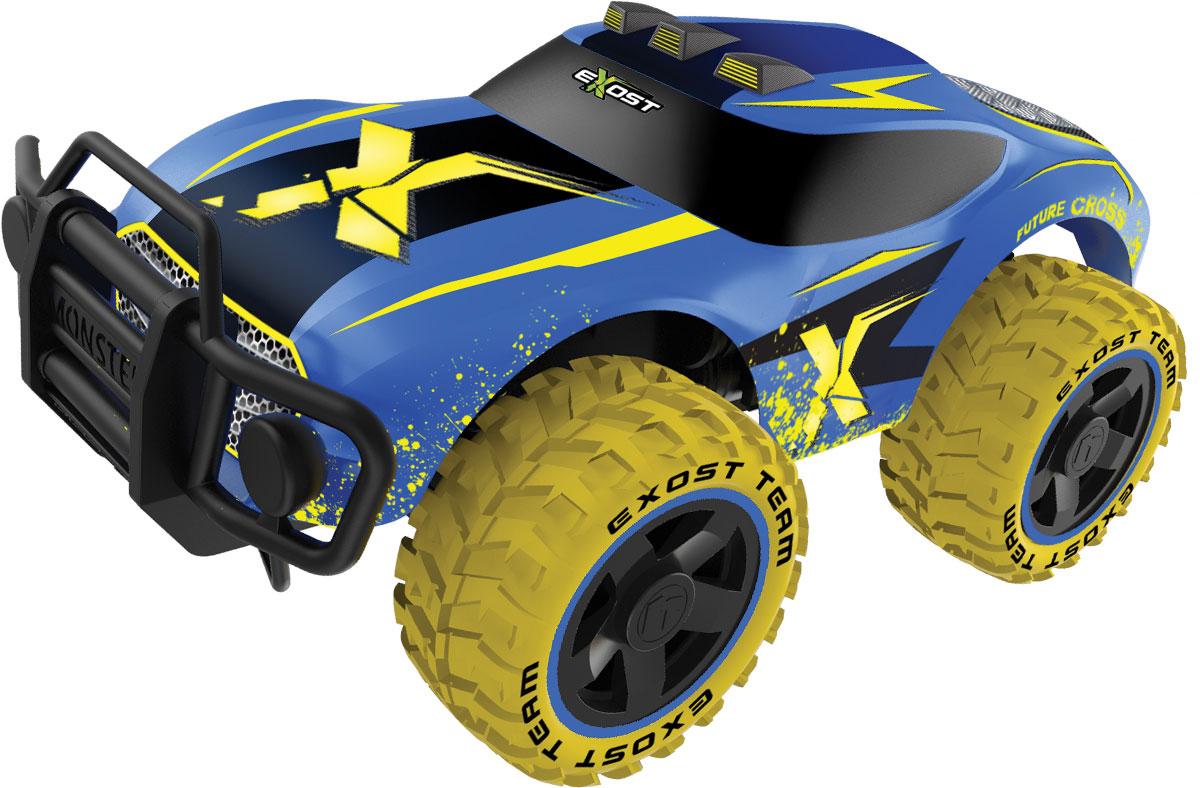 Silverlit Машина на радиоуправлении Футур Кросс цвет синий желтый