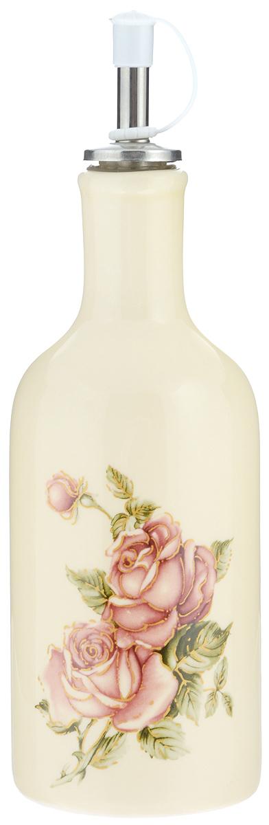Бутылка для масла и уксуса Loraine Розы, 290 мл