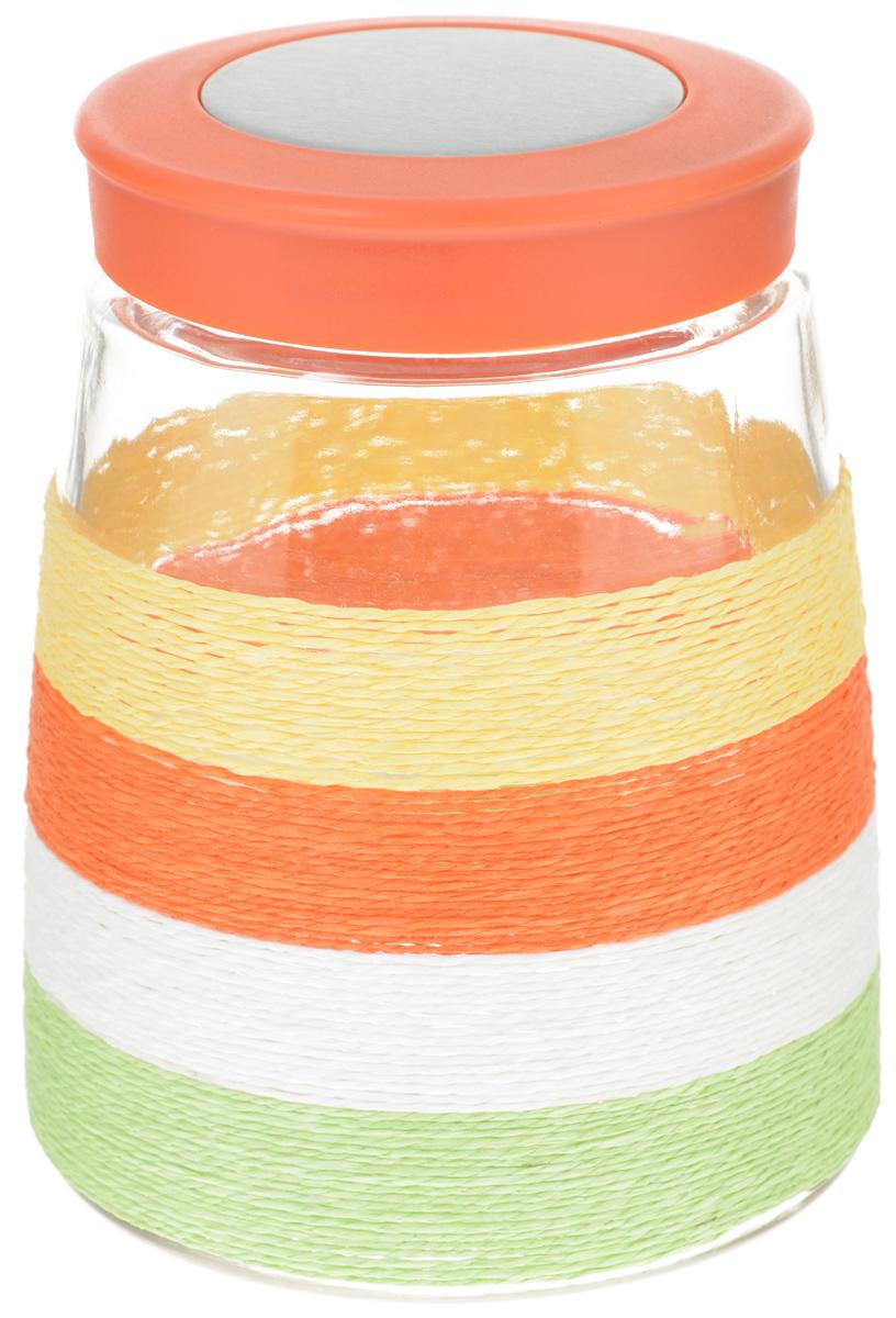 Банка для сыпучих продуктов Loraine, 1,3 л21610Банка для сыпучих продуктов Loraine изготовлена из прочного стекла. Прозрачные стенки позволяют видеть содержимое. Крышка плотно и герметично закрывается, что позволяет дольше хранить продукты. Изделие подходит для кофе, сахара, чая, печенья, орехов, круп и других сыпучих продуктов. Практичное и полезное приобретение для вашей кухни.