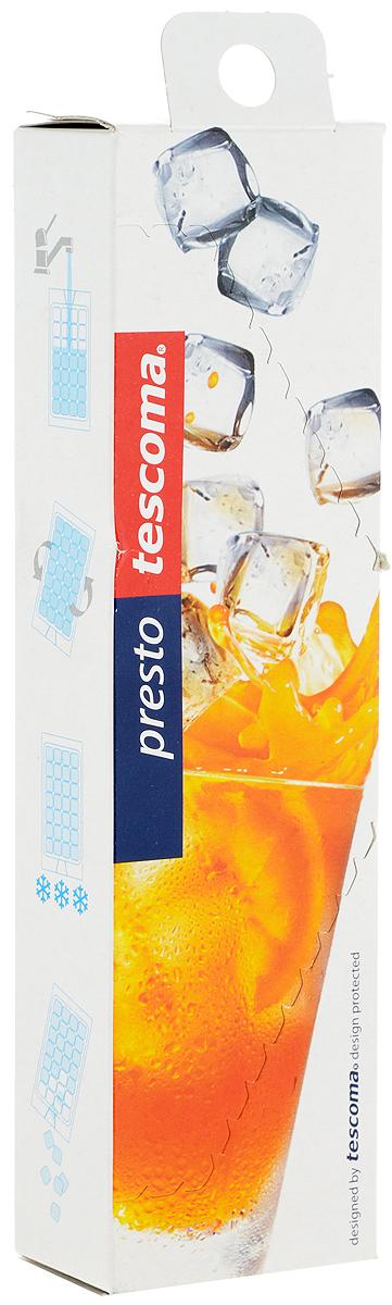 """Самозакрывающиеся мешочки Tescoma """"Presto"""", выполненные из пищевого полиэтилена, предназначены для замораживания больших кубиков льда. Изделия не пропускают запахи из холодильника и легки в использовании.Количество ячеек для льда: 280 шт."""