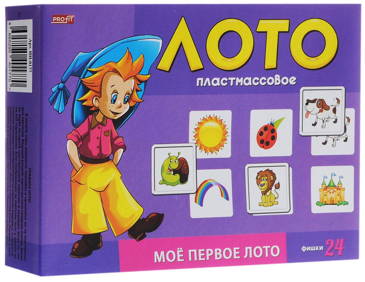Рыжий Кот Настольная игра Лото Мое первое лото лото лотошки для крошки 1280