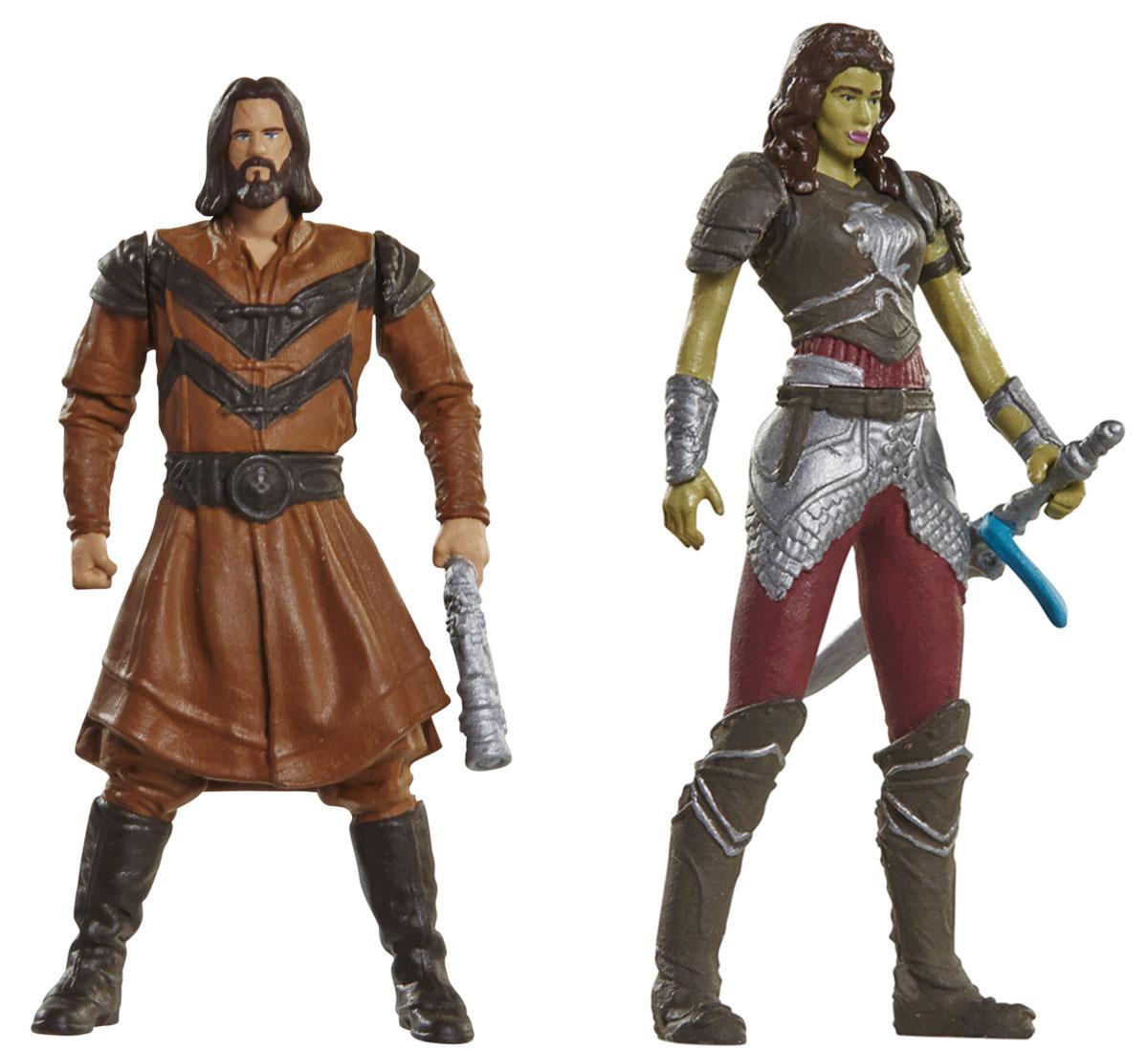 Warcraft. Набор фигурок Гарона и Лотар