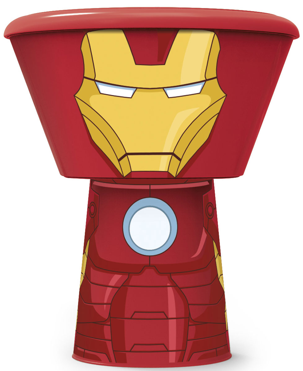 Stor Набор детской посуды Железный человек 3 предмета53878Набор детской посуды Stor Железный человек - выполнен из пищевого пластика, оформлен с изображением любимых героев.