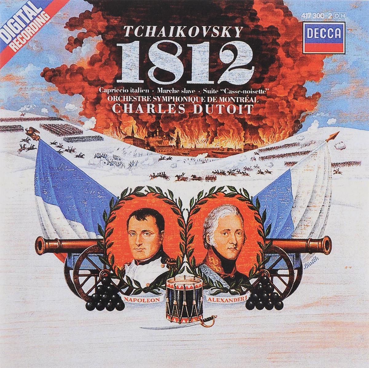 Charles Dutoit. Tchaikovsky. 1812 Overture, Op. 49 / Capriccio Italien, Op. 45 / The Nutcracker Suite, Op. 71A / Marche Slave, Op. 31