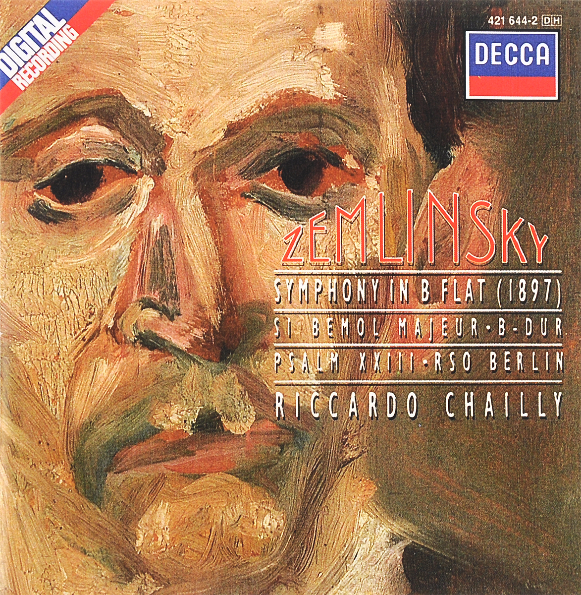 Radio Symphonie Orchester Berlin,Риккардо Шайи Riccardo Chailly. Zemlinsky. Symphony In B Flat / Psalm 23 wholesale manufacturers 17 key bakelite clarinet in b flat surface pink