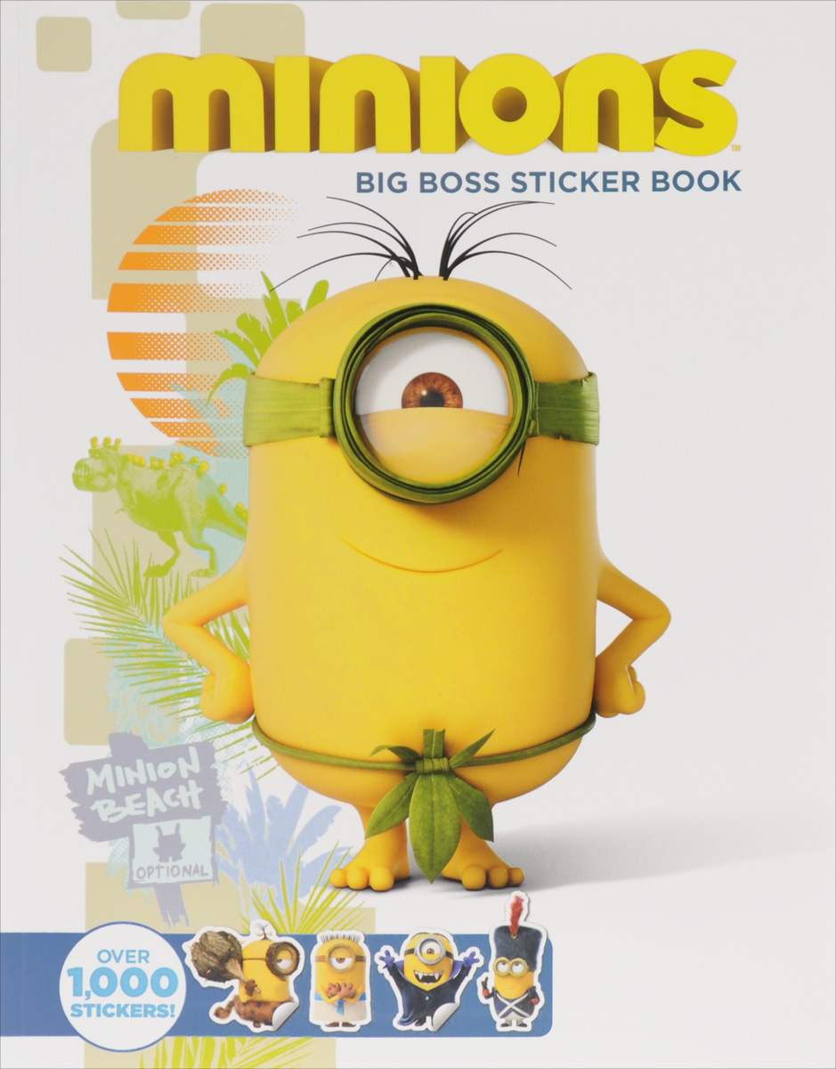 Minions: Big Boss Sticker Book minions the doodle book