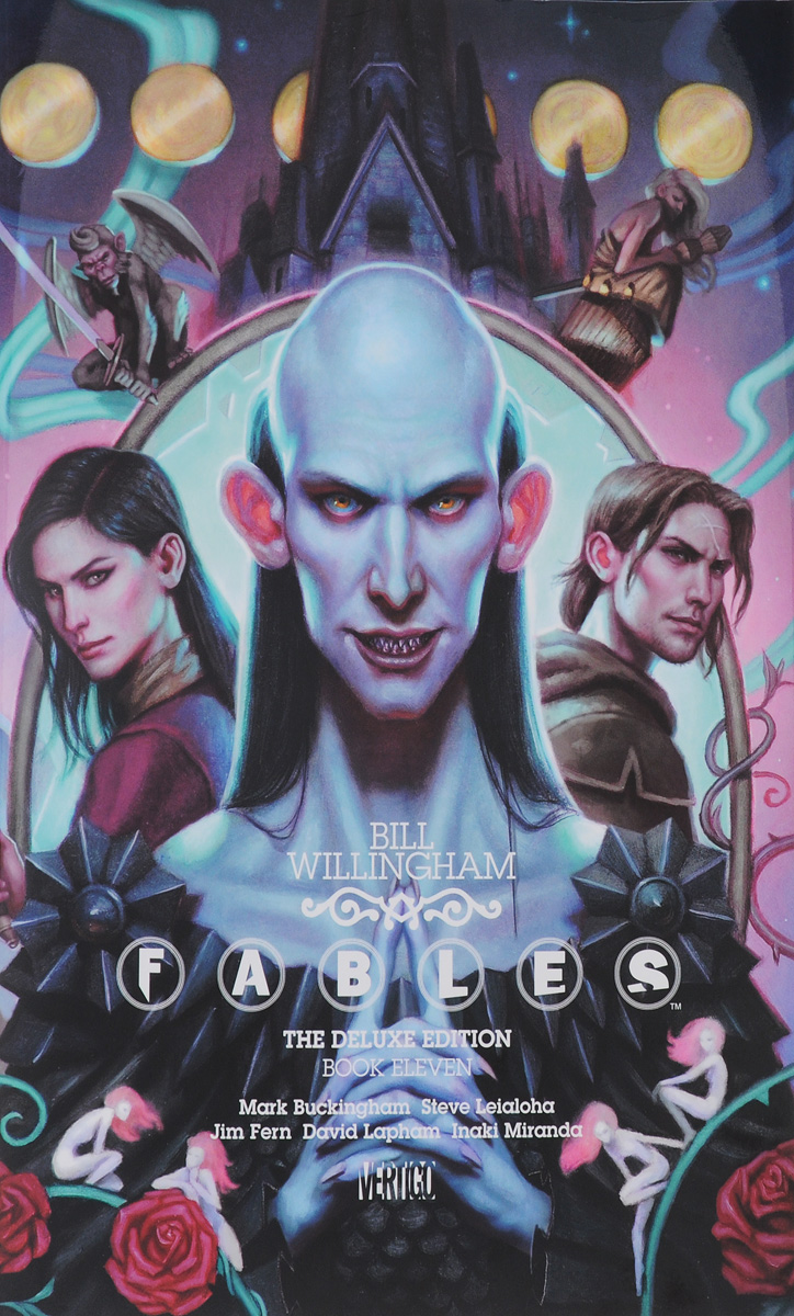 FABLES: DELUXE EDITION BOOK 11 the invisibles the deluxe edition book four