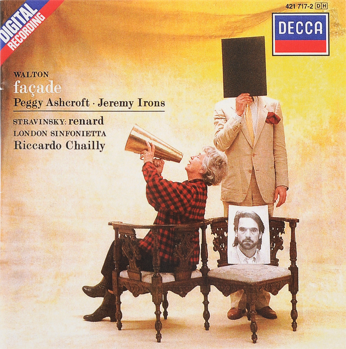 Riccardo Chailly. Walton. Facade / Stravinsky. Renard