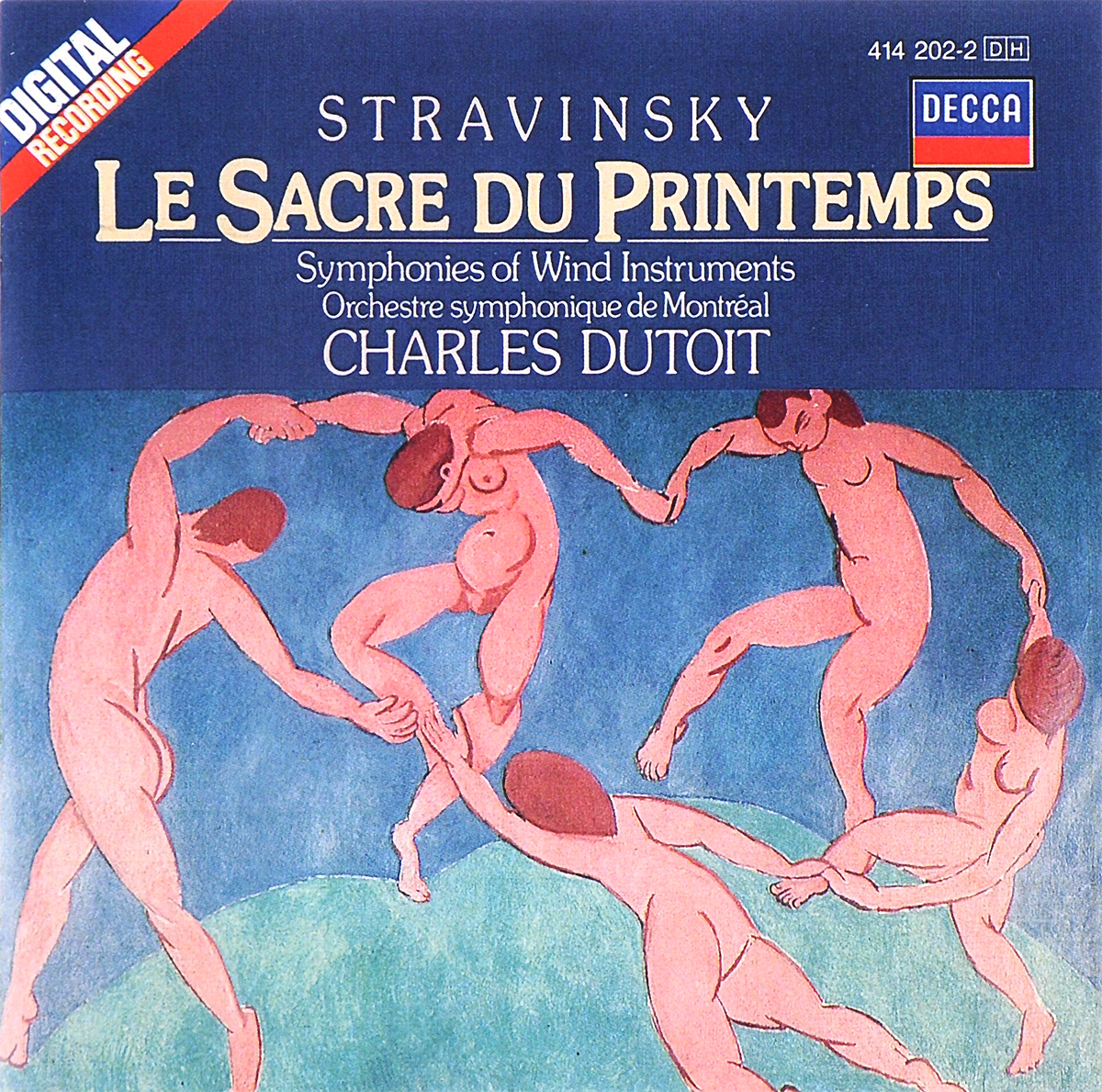 Charles Dutoit. Stravinsky. Le Sacre Du Printemps / Symphonies Of Wind Instruments