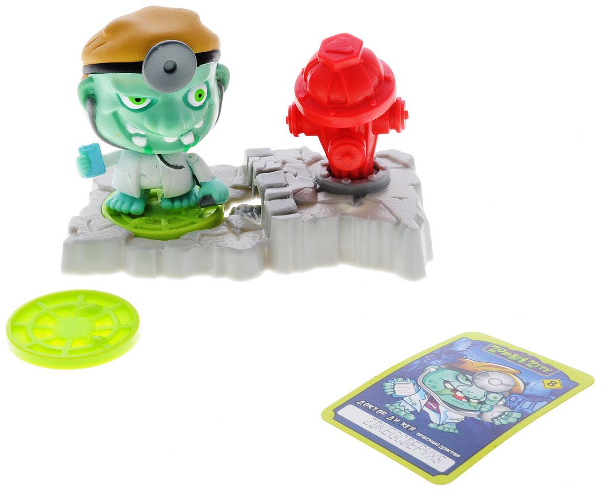 Zombie Zity Игровой набор Ловушка для зомби Доктор Ди Кей и Пожарный гидрант