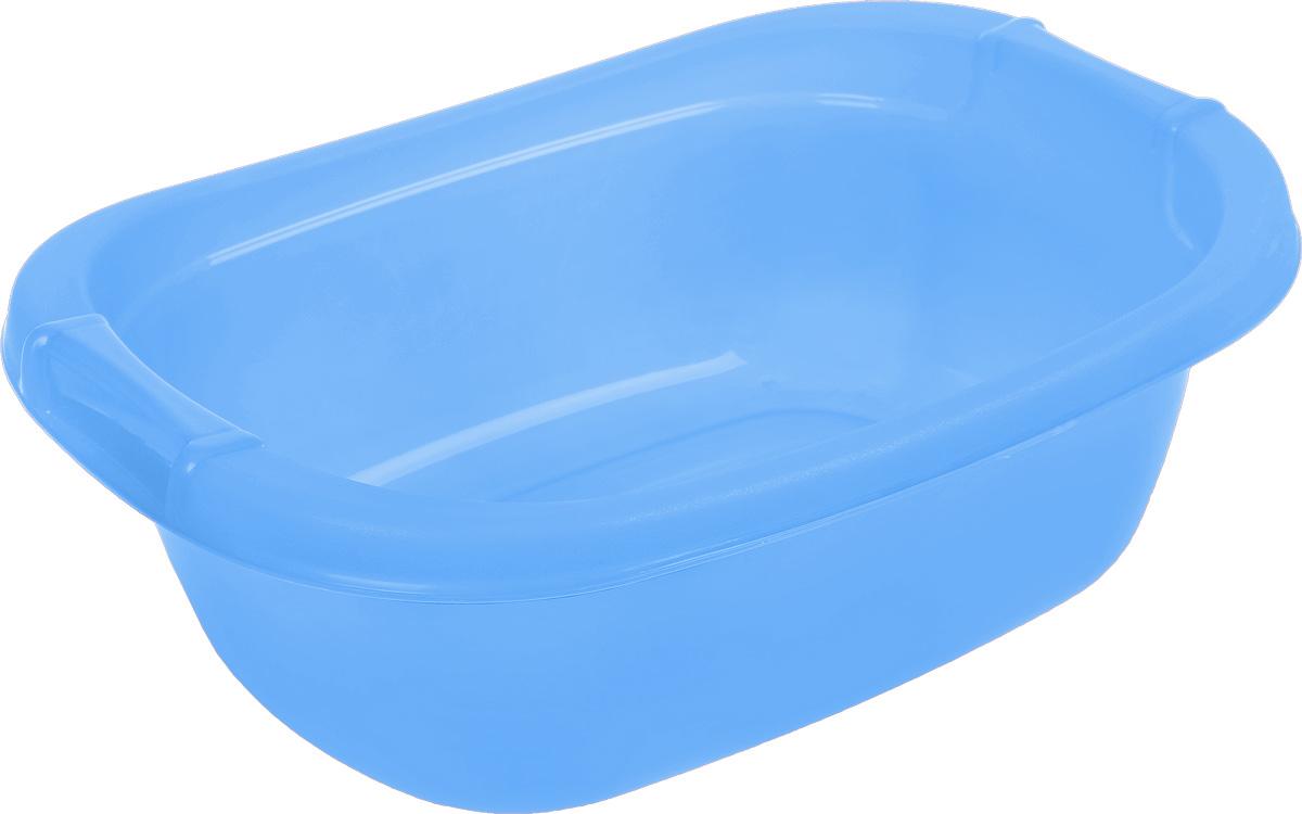 Таз Dunya Plastik, цвет: голубой, 25 л5602_голубойОвальный таз Dunya Plastik выполнен из прочного пластика. Он предназначен для стирки и хранения разных вещей. По бокам имеются углубления, которые обеспечивают удобный хват. Таз пригодится в любом хозяйстве.