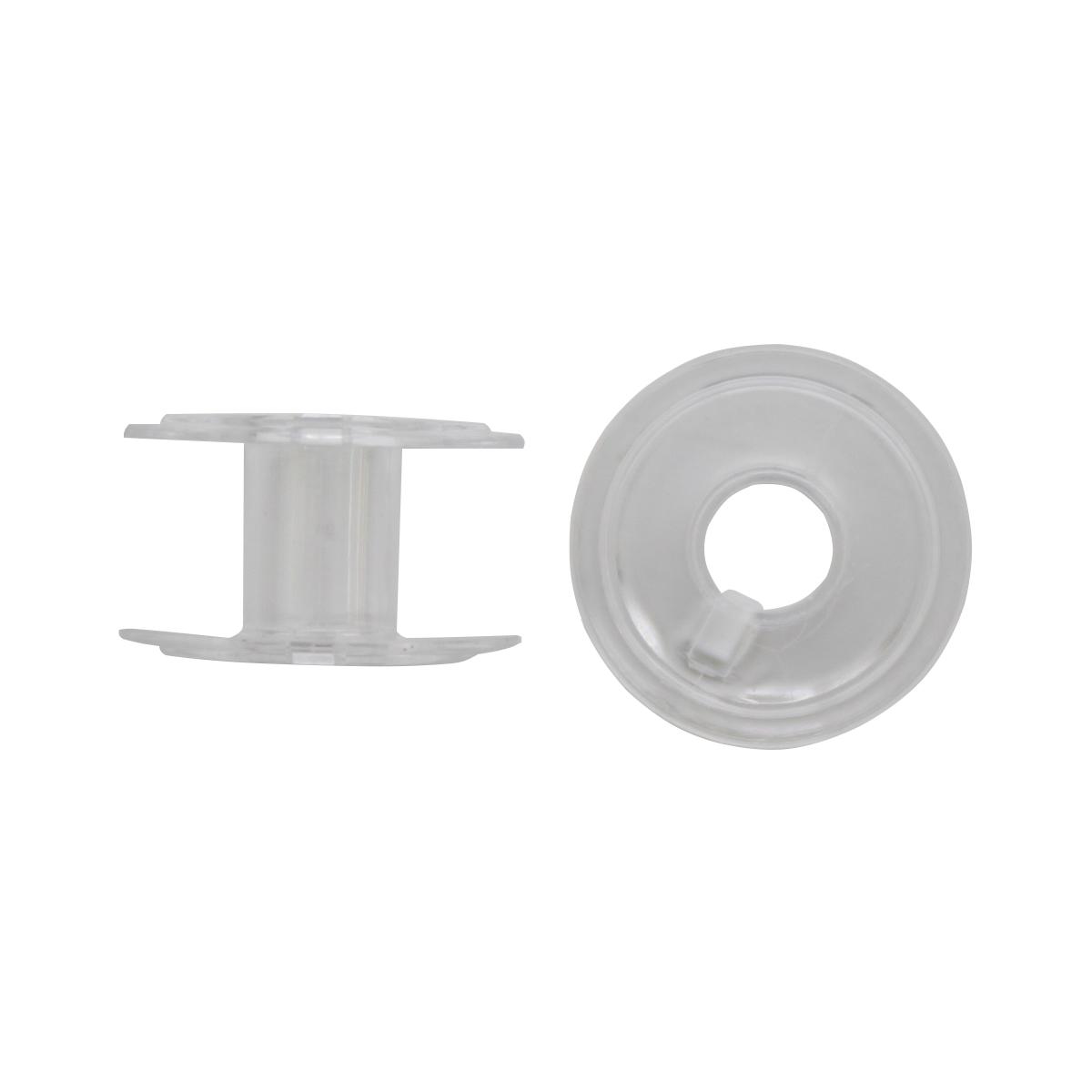 Bestex Шпулька пластиковая ТВ-В01, 0350-0000, прозрачная, 10 шт